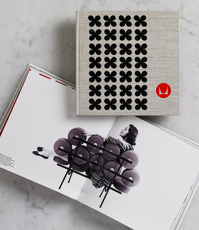 Herman Miller Collection Book, designed to reintroduce Herman Millerís mid-century classics in a contemporary context for a younger architecture and design community (2010). Photo: Morla Design