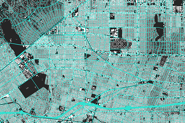 Maps for the World, a series of free mapmaking resources for developers as well as the general public (2006ñpresent). Photo: Stamen Design
