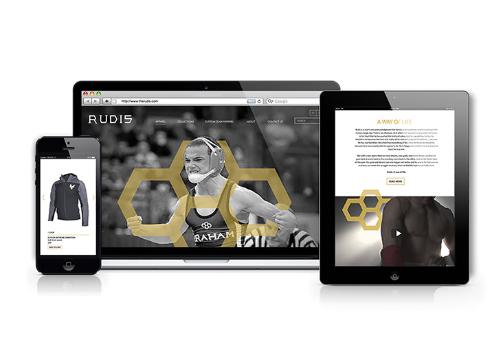 Rudis Website by School of Advertising Art