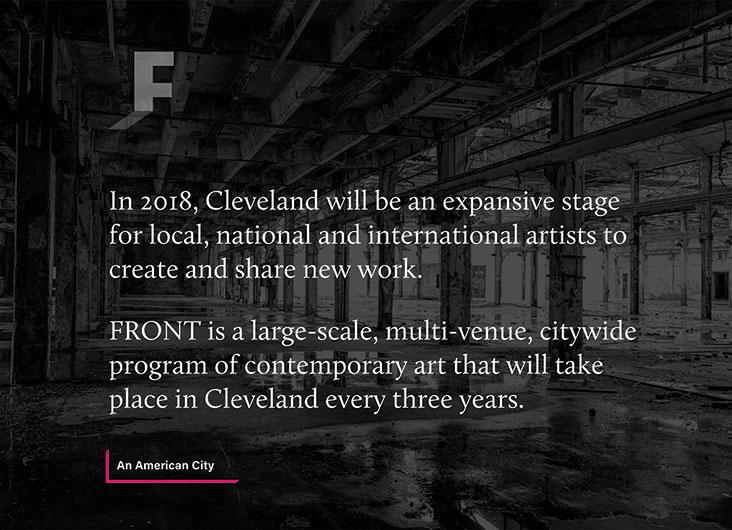 FRONT Website by Nesnadny + Schwartz