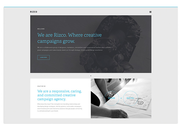 Rizco Website by Rizco Design