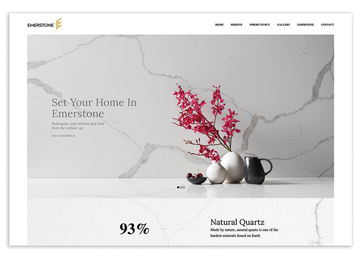 Emerstone Website by GCNY Marketing
