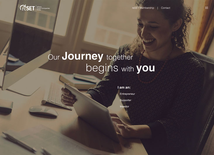Social Enterprise Trust - reSET Website by The Walker Group, Digital Marketing Solutions