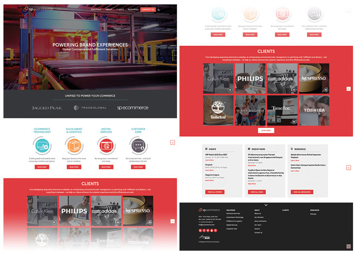 Corporate Website by LEWIS