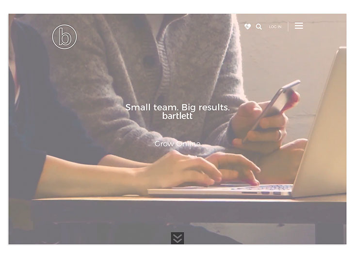 Bartlett Interactive Agency Website by Bartlett Interactive