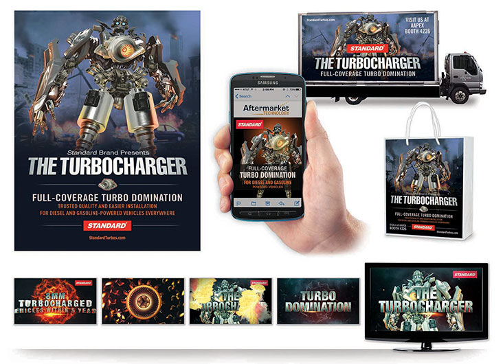 Standard 'The Turbocharger' Multi Channel Campaign by TFI Envision, Inc.