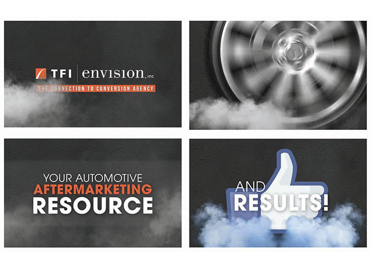 Automotive Aftermarket 'Sizzle' Reel Video by TFI Envision, Inc.