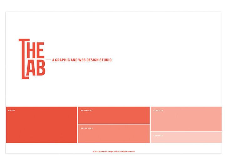 The Lab Design Studio Website by The Lab Design Studio