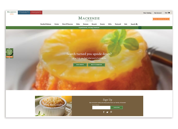 Mackenzie Limited Redesign by Something Digital