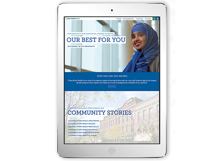 Report to the Community by Christiansen Creative