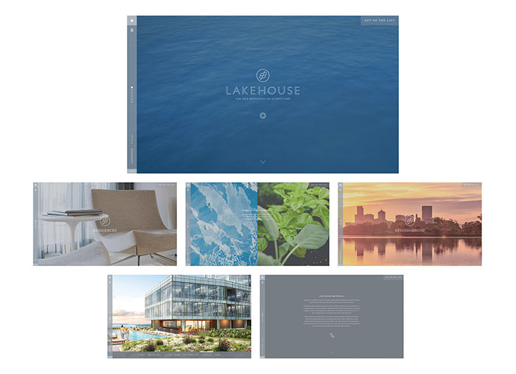 Lakehouse Website Creative Directors: Ellen Bruss, Ken Garcia by Ellen Bruss Design