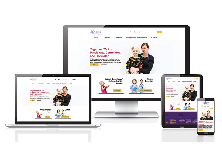 APHON Website Redesign by Association Management Center