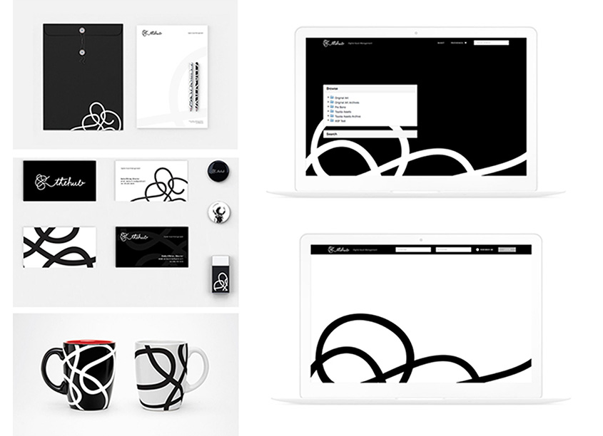 The Hub Branding & Collateral