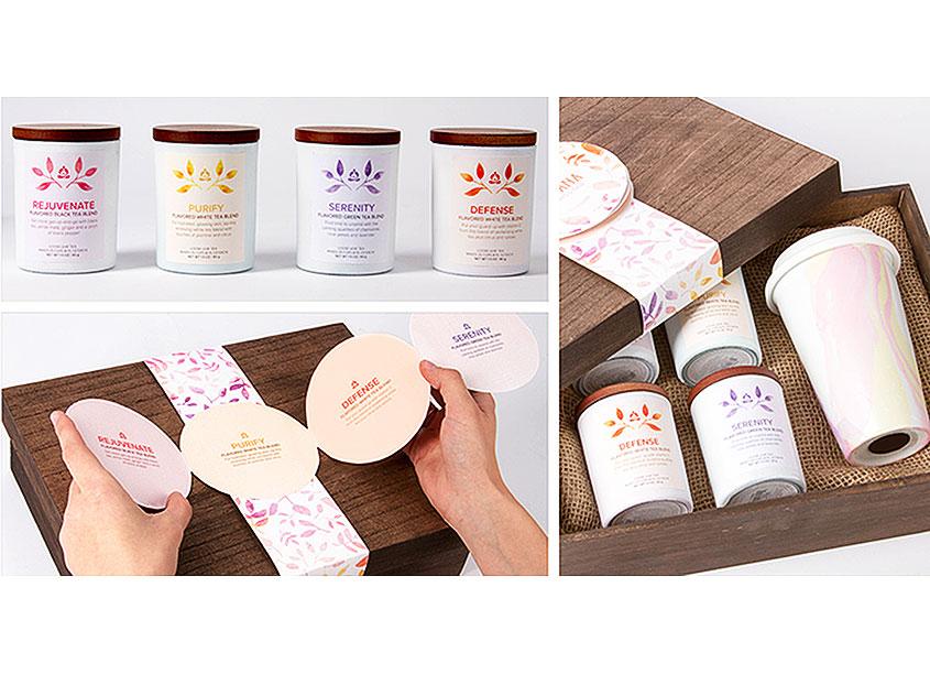 Teavana Packaging