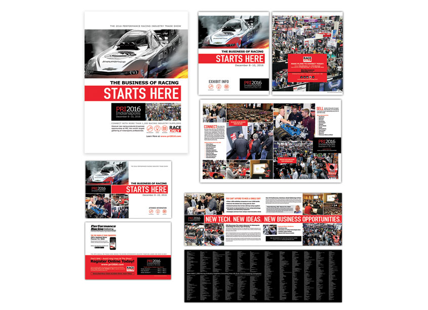 2016 Trade Show Campaign by Performance Racing Industry