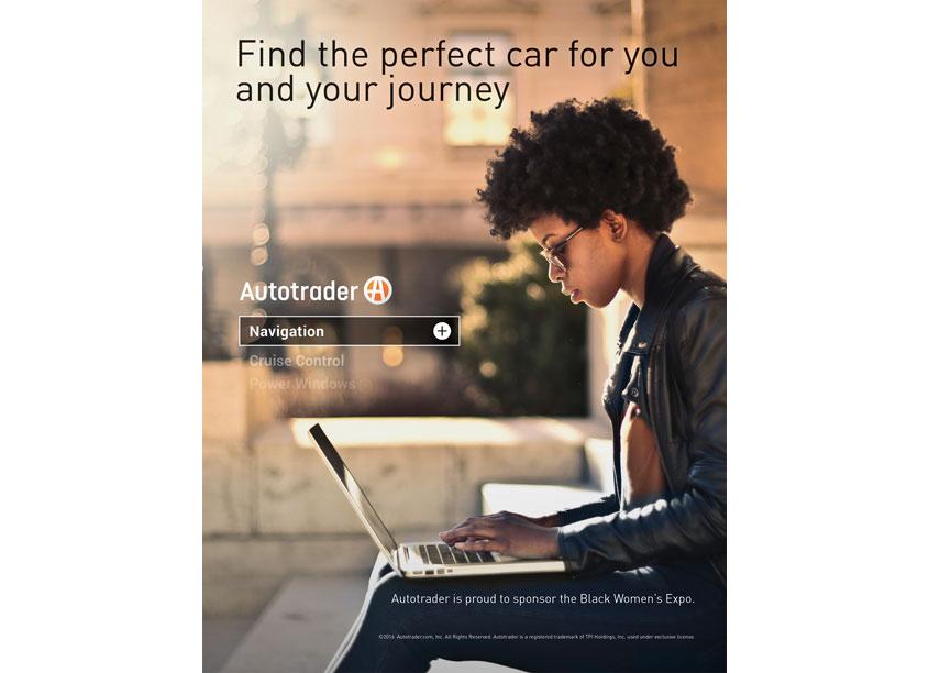 Black Women Expo Print Advertisement by Cox Automotive