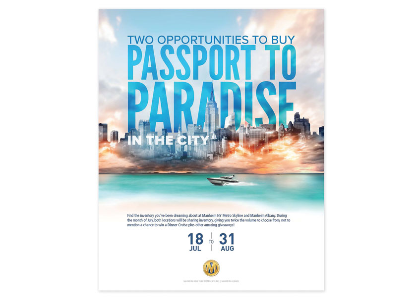 Passport to Paradise by Cox Automotive