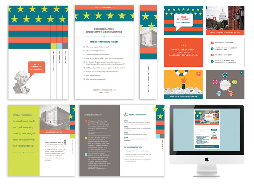 GPO Creative Services Identity Program Art Directors: Maureen Nugent, Amanda Greene by Government Publishing Office