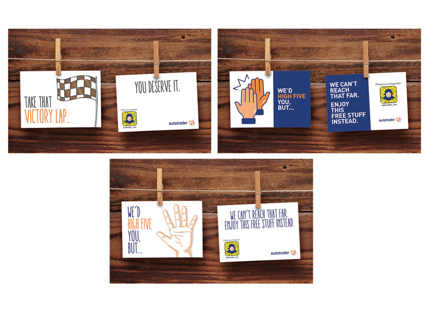 Social Thank You Cards by Cox Automotive