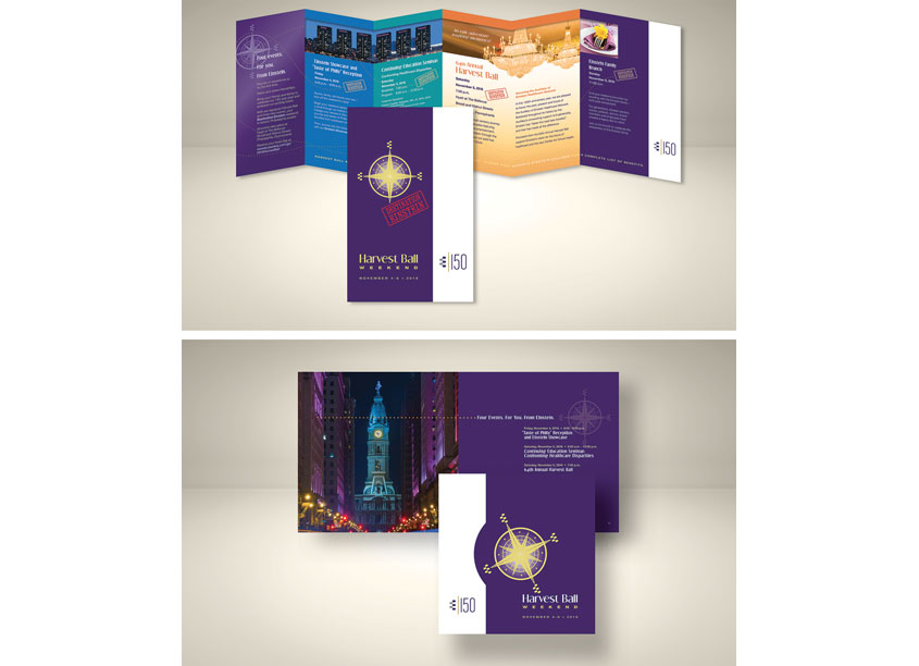 Harvest Ball Brochure and Invitation by Einstein Healthcare Network