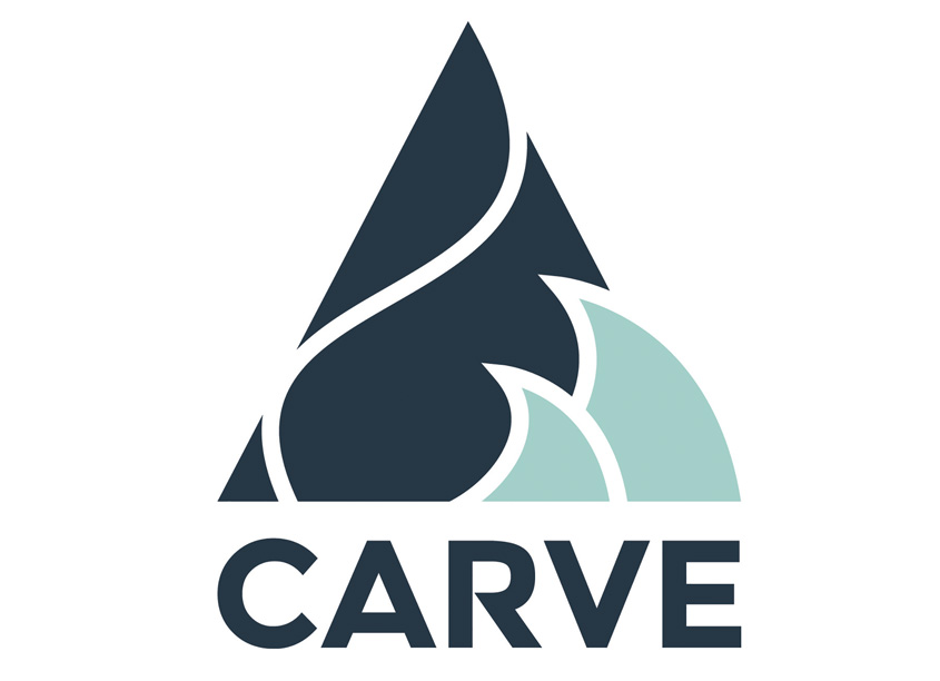 Carve Logo Mark/Metropolitan State University of Denver by JVLES Design