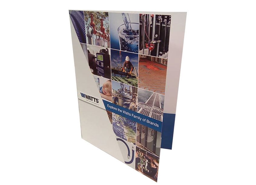 Watts Family of Brands Pocket Folder by Watts Water Technologies