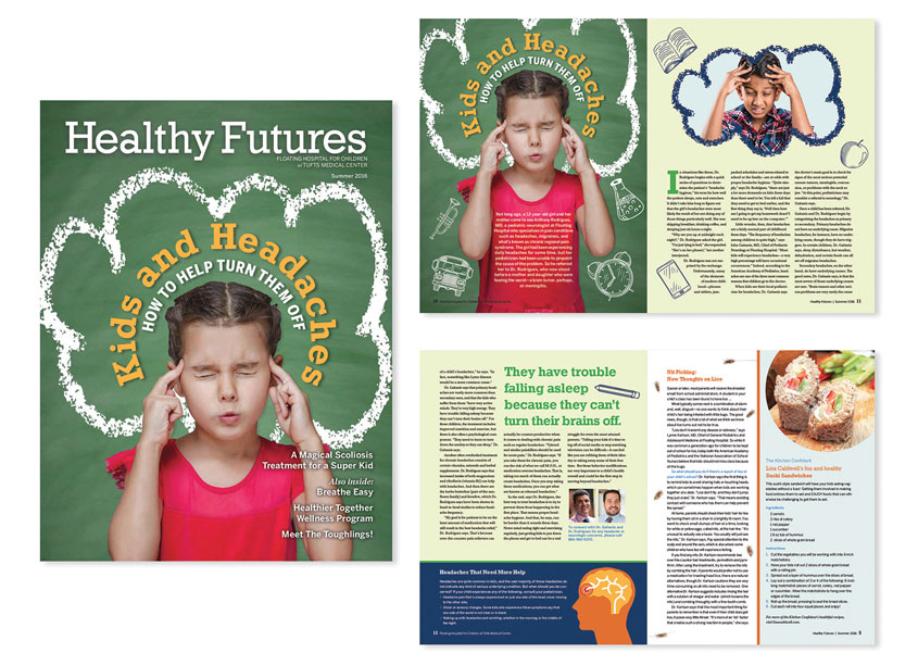 Healthy Futures Magazine by Tufts Medical Center