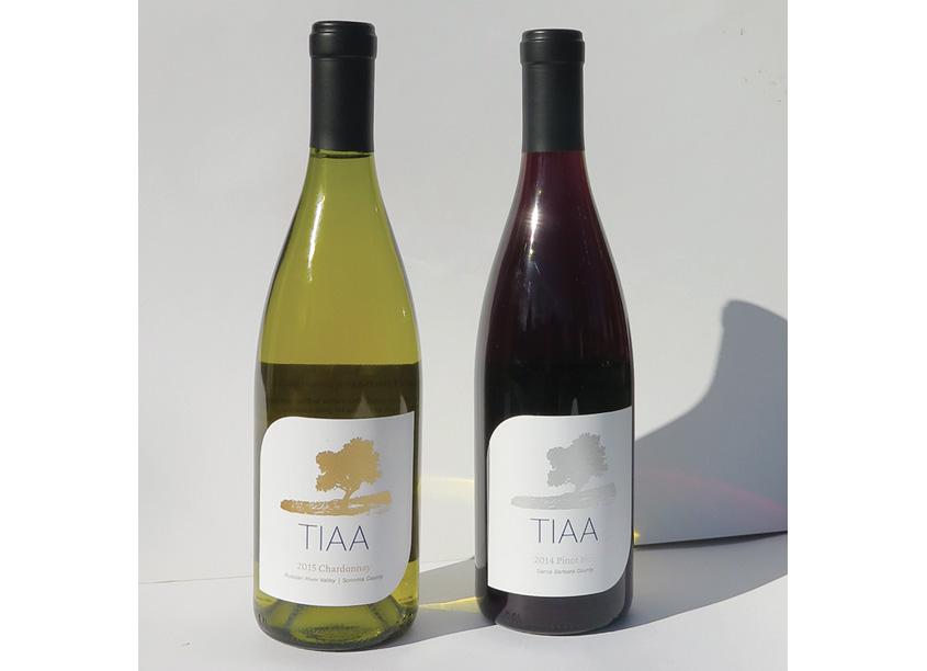 TIAA Wine Label by TIAA