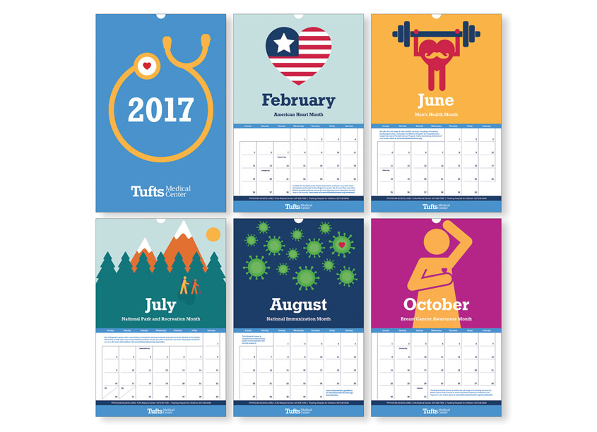 Tufts Medical Center 2017 Calendar by Tufts Medical Center