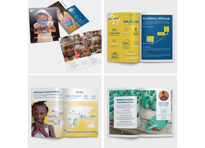 Feed My Starving Children 2016/17 Annual Report by Feed My Starving Children