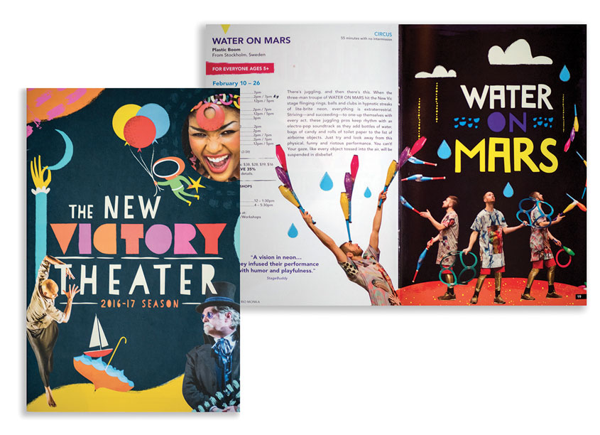 2016-2017 Season Brochure by The New Victory Theater