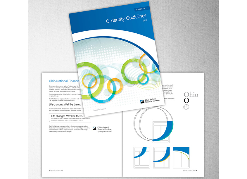 O-dentity Corporate Identity Program by Ohio National Financial Services