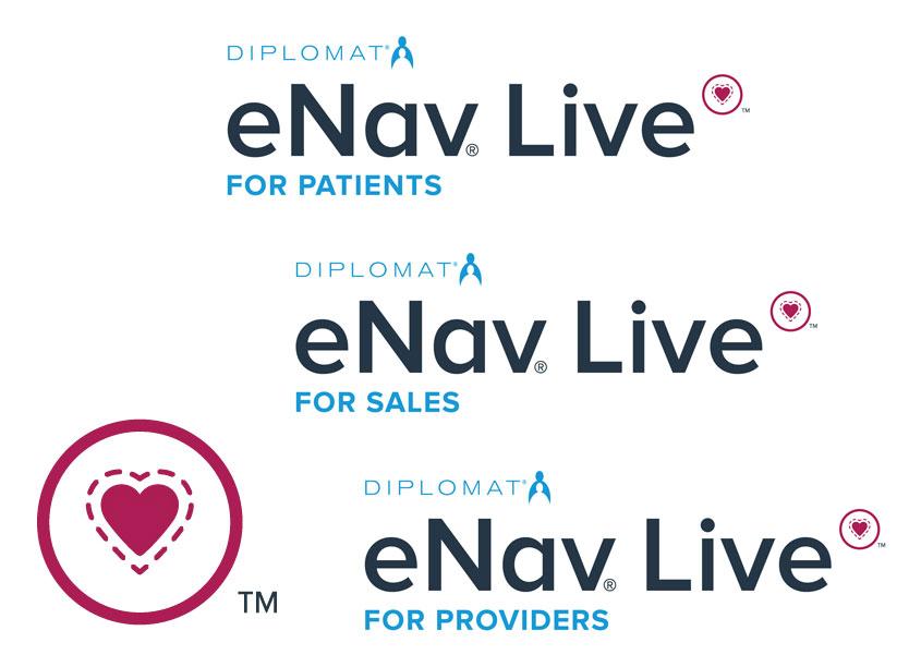 eNav Live Logo by Diplomat Pharmacy Inc.