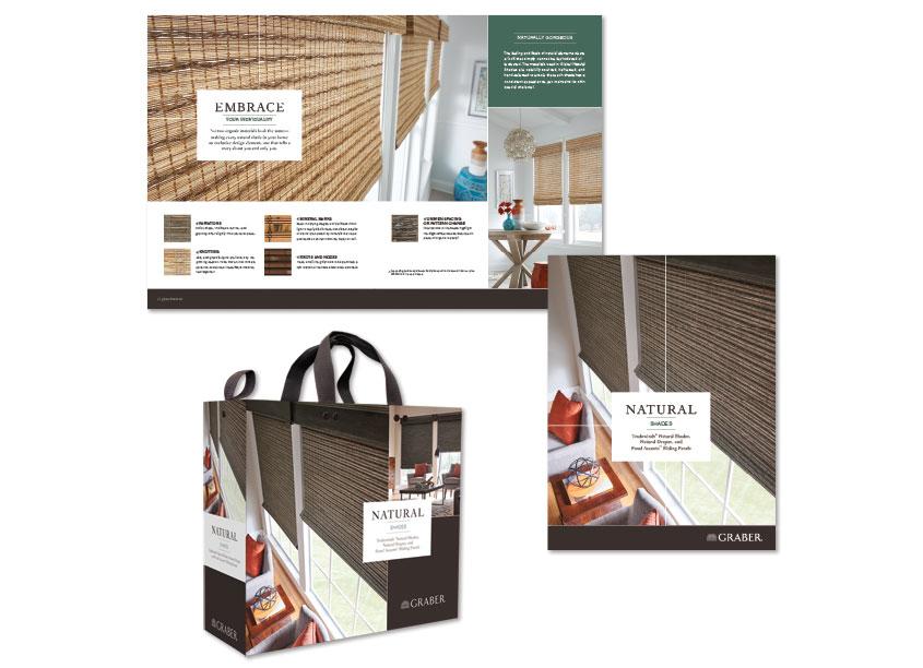 Graber Natural Shades Sampling by Springs Window Fashions
