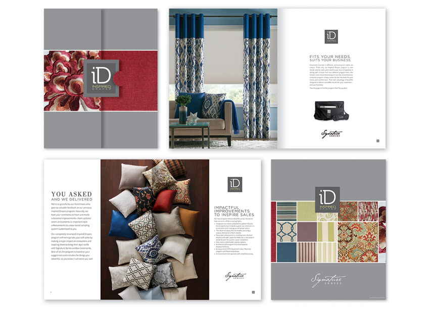 Signature Series Inspired Drapes Launch Kit by Springs Window Fashions