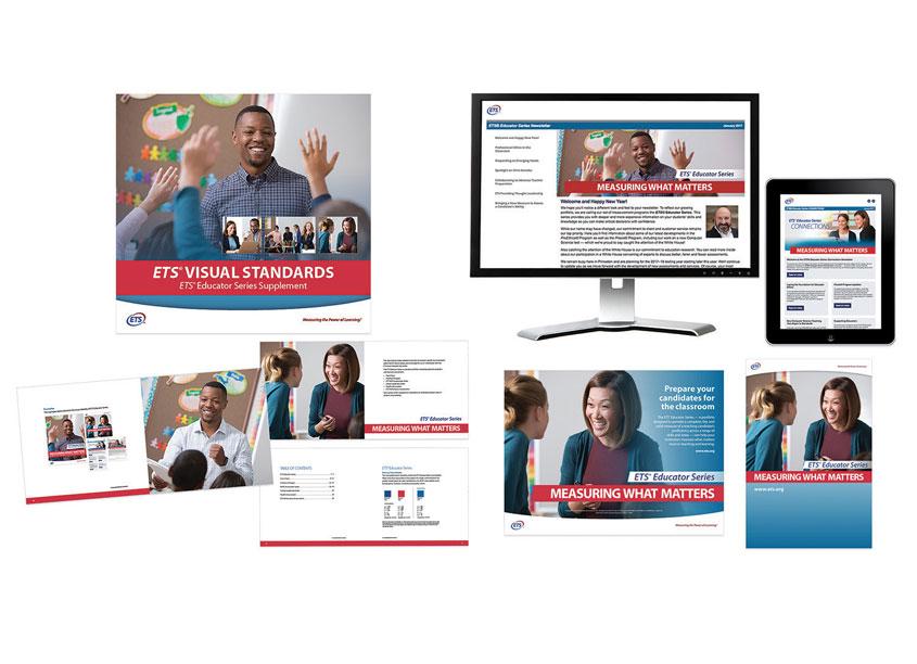 Educator Series Branding by ETS