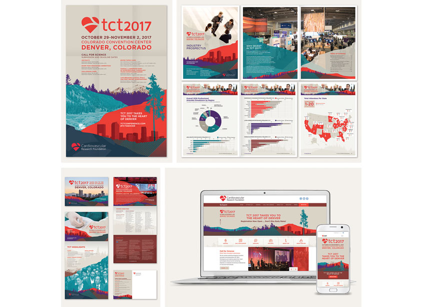 Branding for TCT 2017 Conference by Cardiovascular Research Foundation