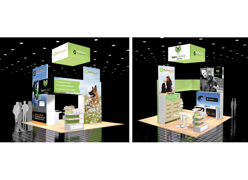 Trade Show Booth by FoodScience Corporation