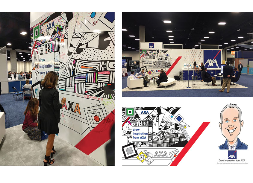 LPL Tradeshow Booth by AXA In-House Creative