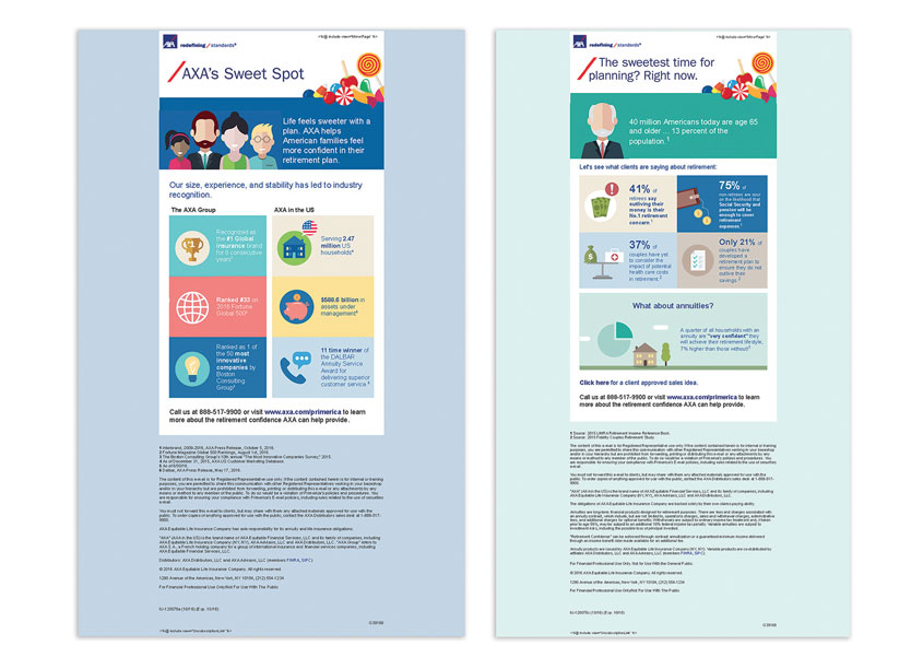 AXA's Suite Spot Email Campaign by AXA In-House Creative