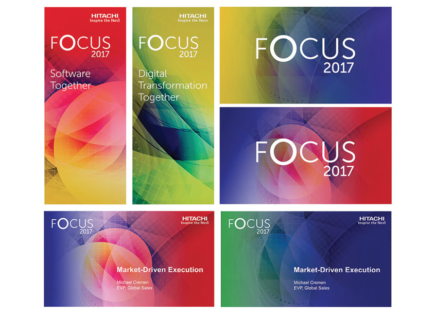 FOCUS 2017 Event Brand by Hitachi