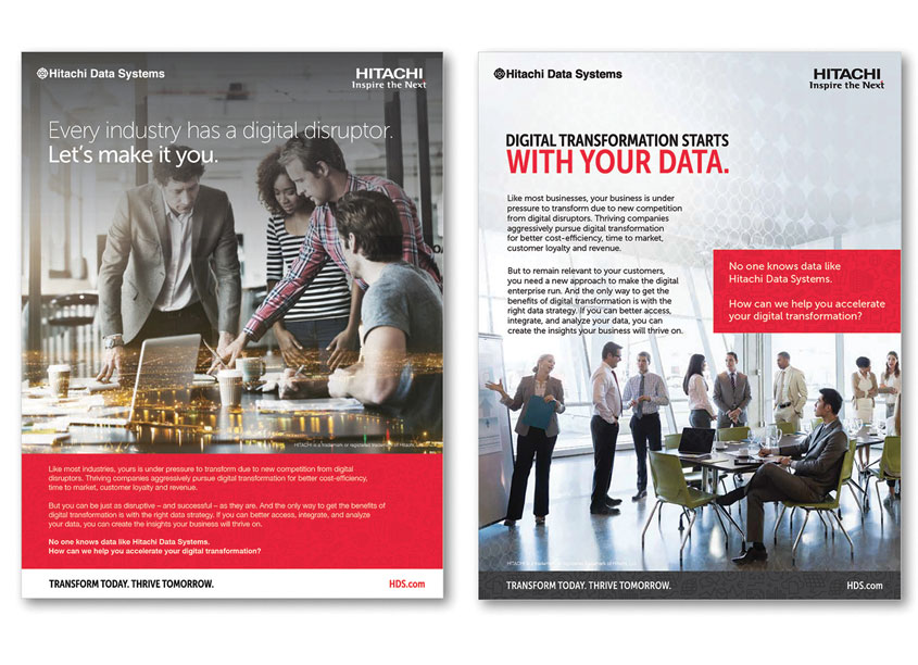 Hitachi Data Systems Vision Advertising by Hitachi