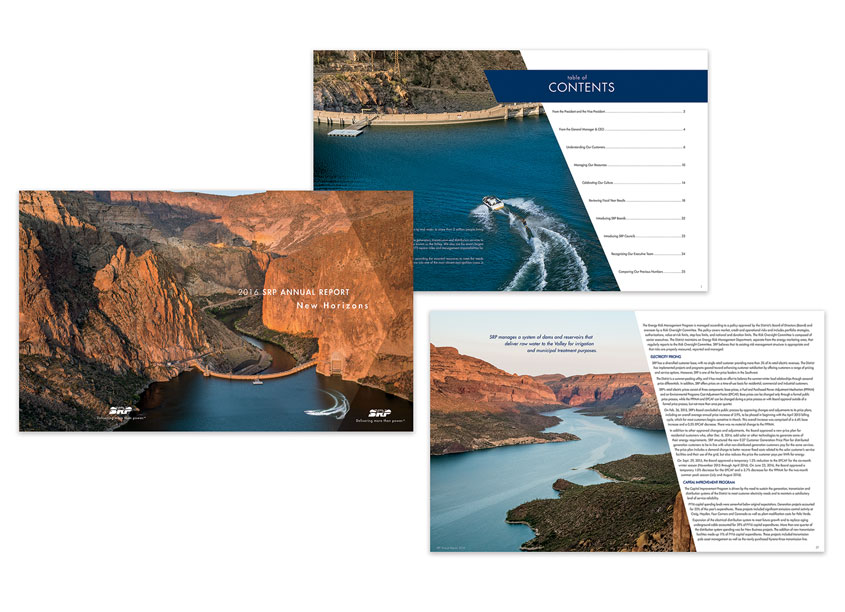 2016 SRP Annual Report - New Horizons by SRP Salt River Project