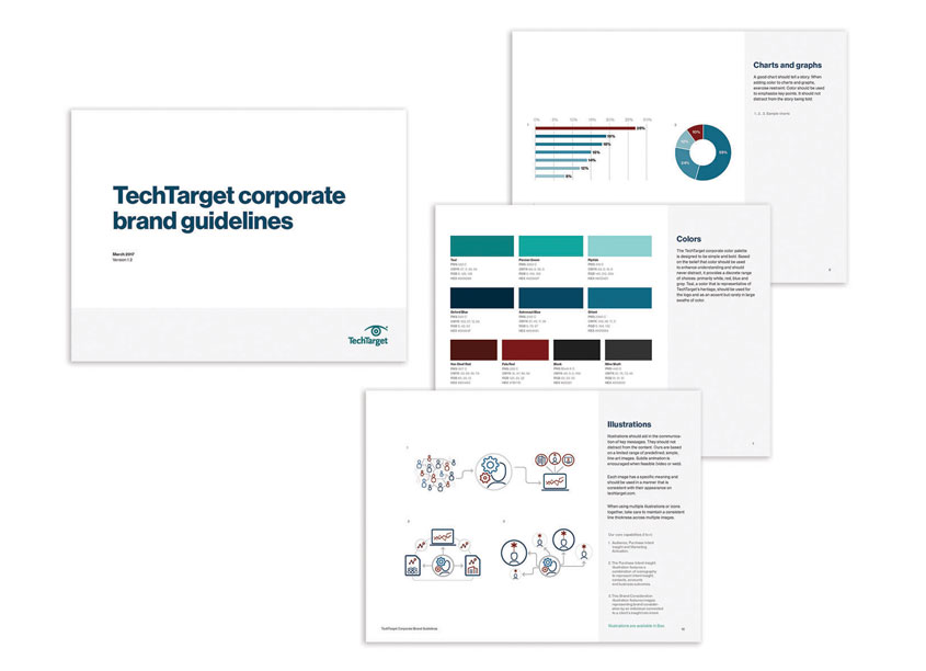 TechTarget Corporate Brand Guidelines by TechTarget