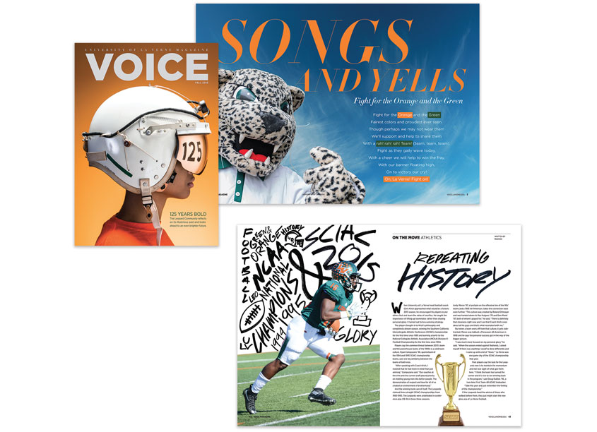Voice Magazine - 125th Anniversary Issue by University of La Verne