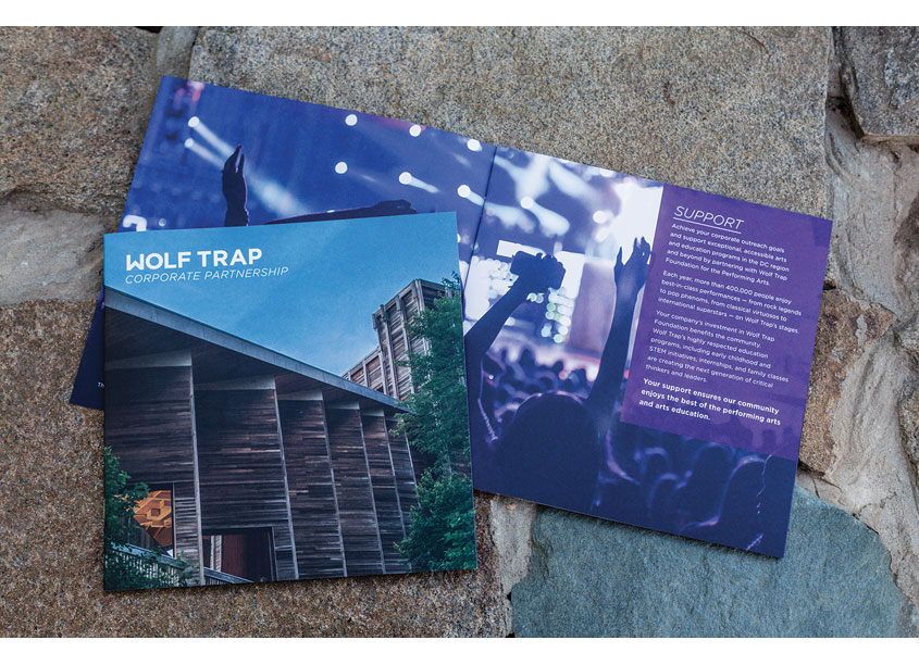 Wolf Trap Corporate Partnership Brochure by Wolf Trap Creative