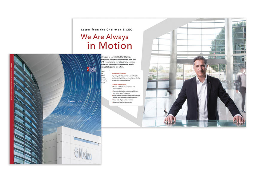 Masimo 2016 Annual Report: Through Movement by Masimo Corporation