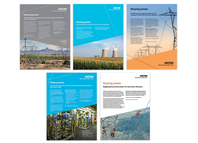Staying Power Advertising Campaign by AECOM