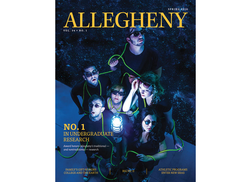 Allegheny Magazine - Spring 2016 Cover by Allegheny College