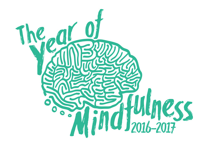 Year of Mindfulness Logo by Allegheny College